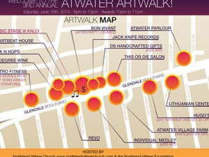 ATWATER ARTWALK 2013 GRAPHICS